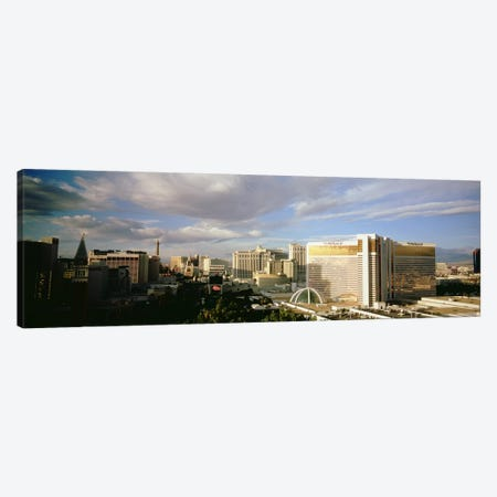 High angle view of buildings in a city, The Strip, Las Vegas, Nevada, USA #3 Canvas Print #PIM4920} by Panoramic Images Canvas Art