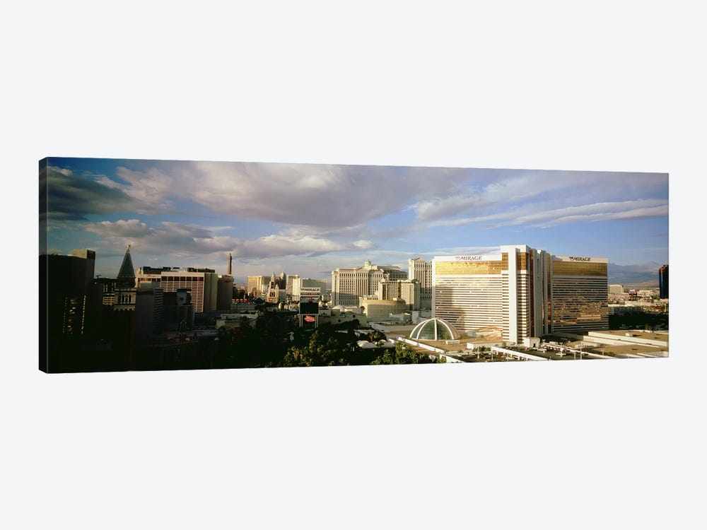 High angle view of buildings in a city, The Strip, Las Vegas, Nevada, USA #3 by Panoramic Images 1-piece Canvas Wall Art