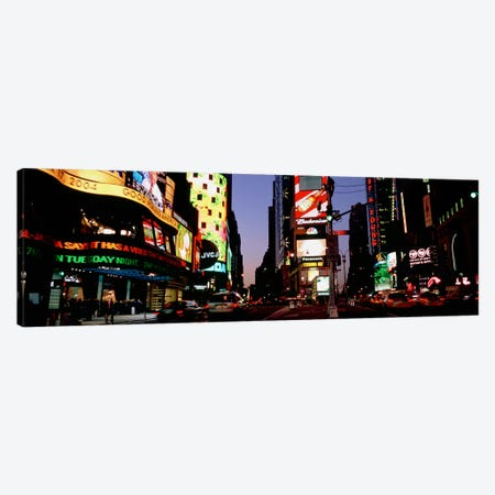 Traffic on a road, Times Square, New York City, New York, USA #2 Canvas Print #PIM4926} by Panoramic Images Canvas Art Print