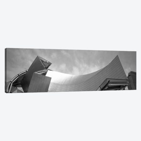Low Angle View Of A Building, Millennium Park, Chicago, Illinois, USA Canvas Print #PIM4930} by Panoramic Images Art Print