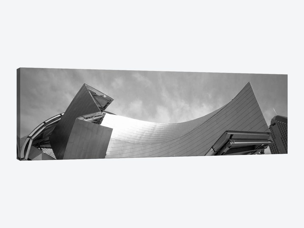 Low Angle View Of A Building, Millennium Park, Chicago, Illinois, USA by Panoramic Images 1-piece Canvas Art Print