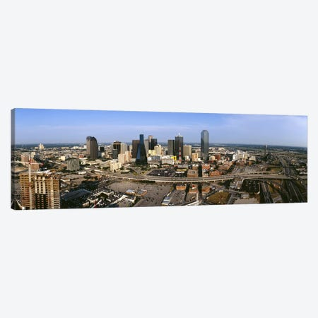 Aerial view of a city, Dallas, Texas, USA Canvas Print #PIM4944} by Panoramic Images Canvas Art Print