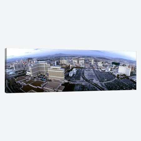Aerial view of a city, Las Vegas, Nevada, USA Canvas Print #PIM4945} by Panoramic Images Art Print