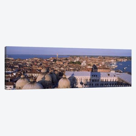 High Angle View Of A City, Venice, Italy Canvas Print #PIM4952} by Panoramic Images Art Print