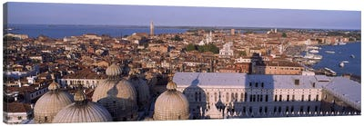 High Angle View Of A City, Venice, Italy Canvas Art Print