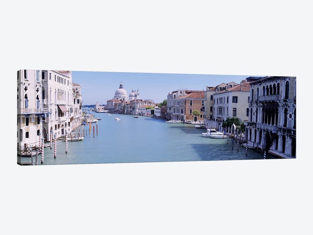 Buildings Along A Canal, Santa Maria Della Salute, Venice, Italy by Panoramic Images 1-piece Canvas Artwork