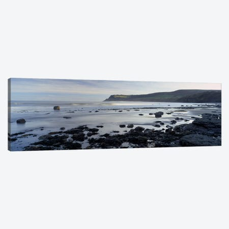 Coastal Landscape, Robin Hood's Bay, North Yorkshire, England, United Kingdom Canvas Print #PIM4956} by Panoramic Images Canvas Wall Art