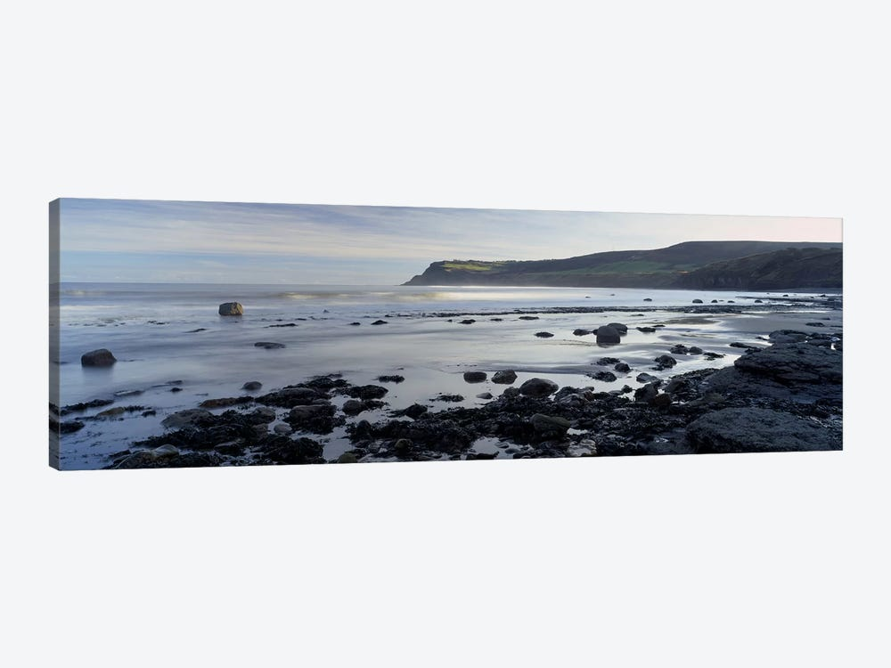 Coastal Landscape, Robin Hood's Bay, North Yorkshire, England, United Kingdom by Panoramic Images 1-piece Canvas Art Print