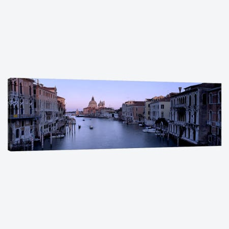 Buildings Along A Canal, Santa Maria Della Salute, Venice, Italy #2 Canvas Print #PIM4957} by Panoramic Images Canvas Artwork