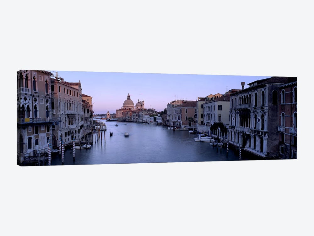 Buildings Along A Canal, Santa Maria Della Salute, Venice, Italy #2 1-piece Canvas Wall Art