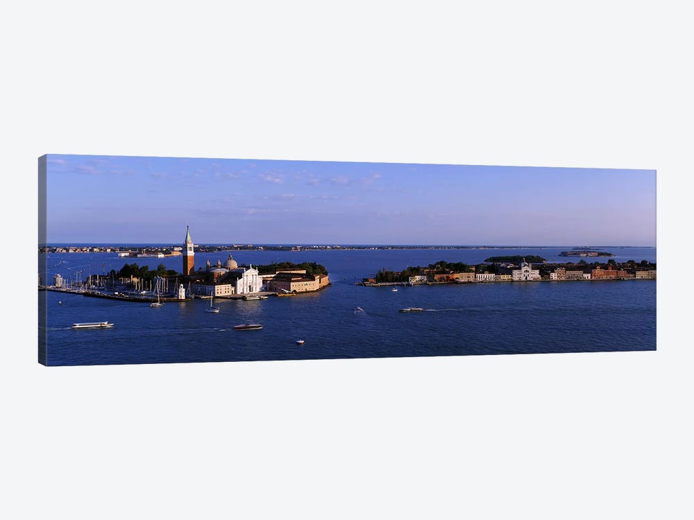 High Angle View Of Buildings Surrounded By Water, San Giorgio Maggiore, Venice, Italy by Panoramic Images 1-piece Canvas Artwork