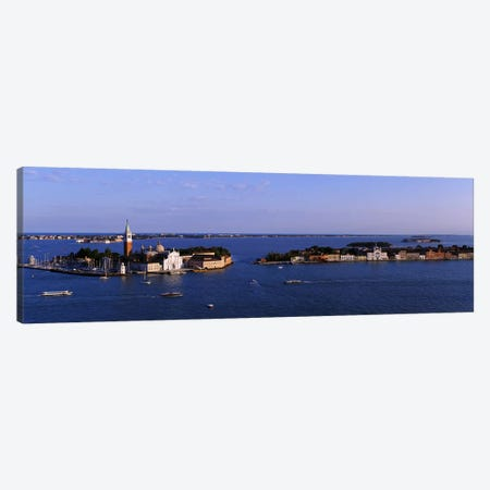 High Angle View Of Buildings Surrounded By Water, San Giorgio Maggiore, Venice, Italy Canvas Print #PIM4960} by Panoramic Images Canvas Art