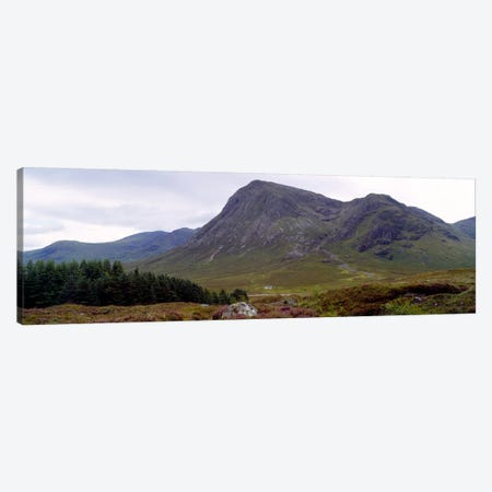 Mountain Landscape, Glen Coe, Highlands, Scotland, United Kingdom Canvas Print #PIM4965} by Panoramic Images Canvas Art Print