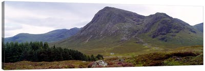 Mountain Landscape, Glen Coe, Highlands, Scotland, United Kingdom Canvas Art Print
