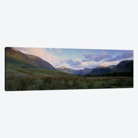 Narrow Valley Landscape, Glen Nevis, Highlands, Scotland, United Kingdom Canvas Print #PIM4966} by Panoramic Images Canvas Art Print
