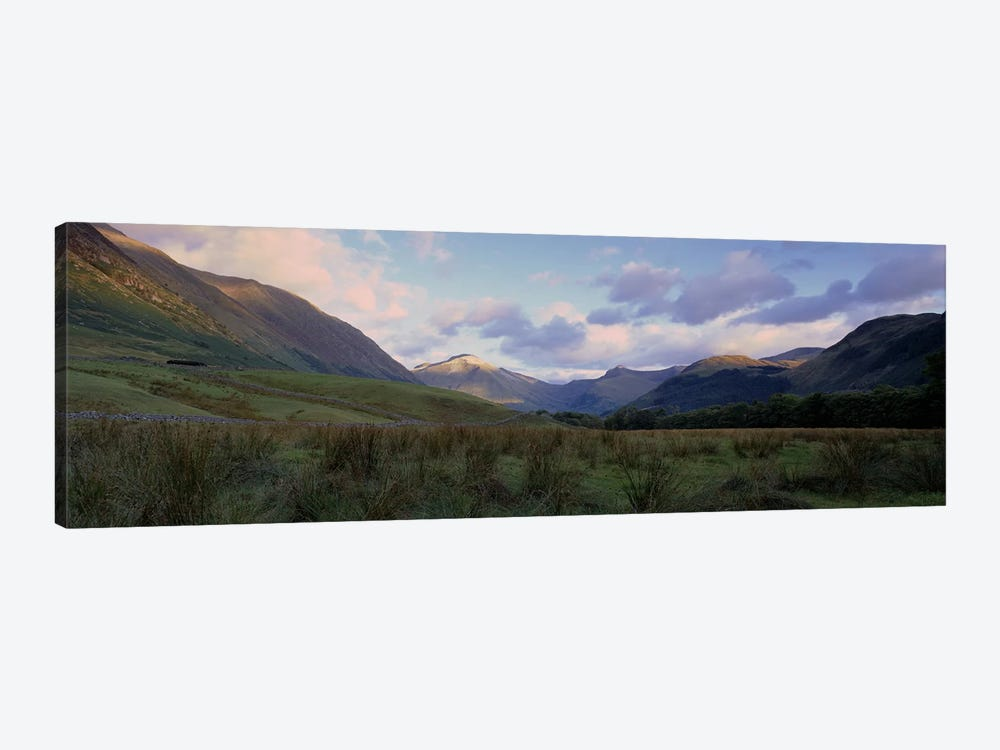 Narrow Valley Landscape, Glen Nevis, Highlands, Scotland, United Kingdom by Panoramic Images 1-piece Canvas Artwork