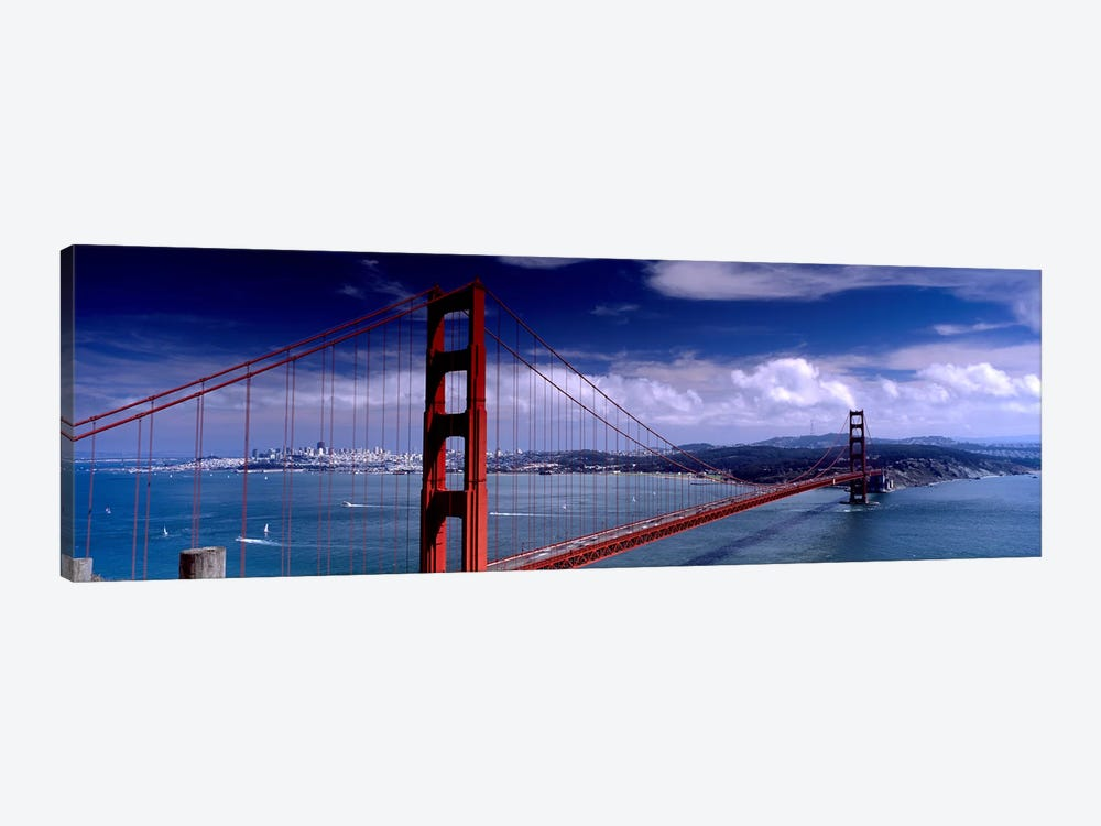 Bridge Over A River, Golden Gate Bridge, San Francisco, California, USA by Panoramic Images 1-piece Canvas Art Print