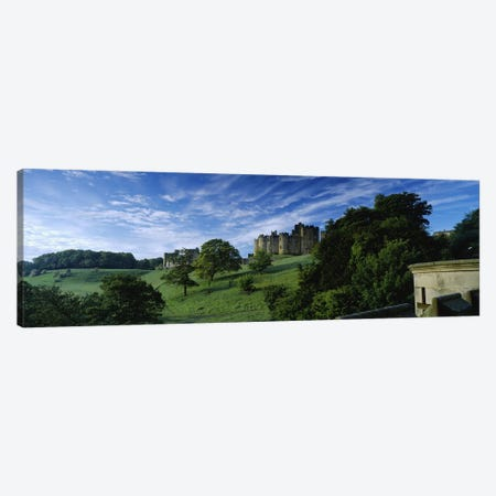 Alnwick Castle, Alnwick, Northumberland, England, United Kingdom Canvas Print #PIM4971} by Panoramic Images Canvas Art Print