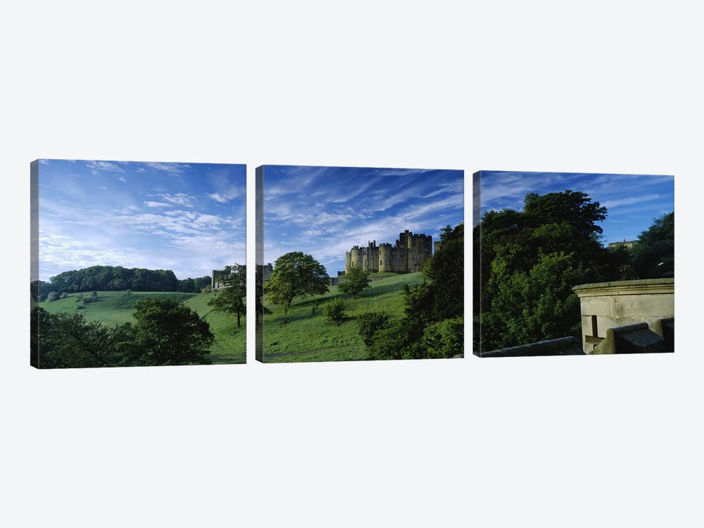 Alnwick Castle, Alnwick, Northumberland, England, United Kingdom by Panoramic Images 3-piece Canvas Art