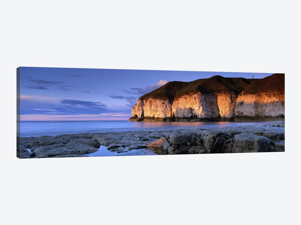 Coastal Cliffs, Thornwick Bay, Yorkshire, England, United Kingdom by Panoramic Images 1-piece Art Print