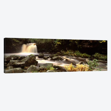 Blurred Motion View Of Flowing Water, Thomason Foss, North York Moors, North Yorkshire, England Canvas Print #PIM4987} by Panoramic Images Canvas Print