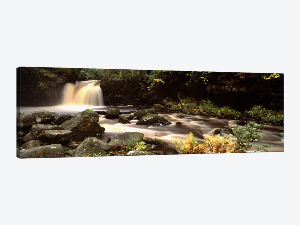 Blurred Motion View Of Flowing Water, Thomason Foss, North York Moors, North Yorkshire, England by Panoramic Images 1-piece Art Print