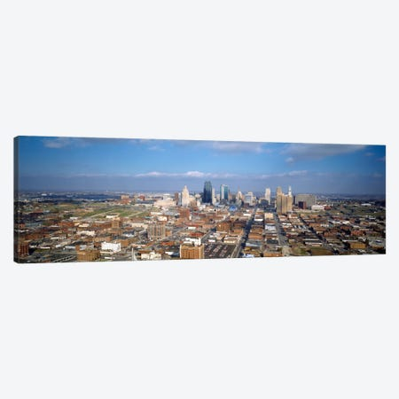 Buildings in a city, Hyatt Regency Crown Center, Kansas City, Jackson County, Missouri, USA Canvas Print #PIM498} by Panoramic Images Art Print