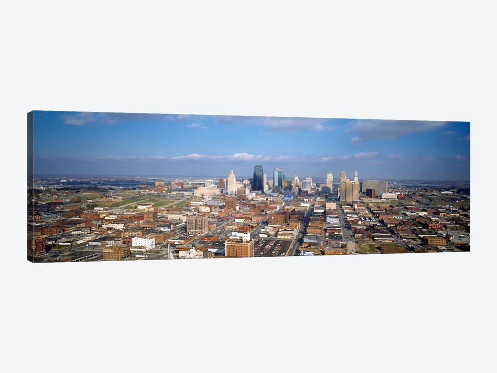 Buildings in a city, Hyatt Regency Crown Center, Kansas City, Jackson County, Missouri, USA by Panoramic Images 1-piece Canvas Wall Art