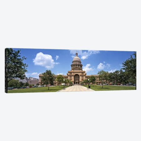 Facade of a government building, Texas State Capitol, Austin, Texas, USA Canvas Print #PIM4999} by Panoramic Images Canvas Art Print