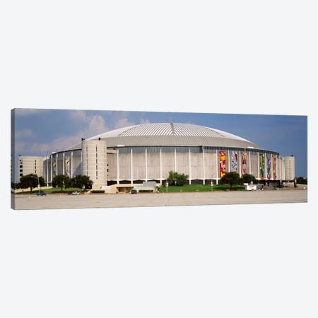Baseball stadium, Houston Astrodome, Houston, Texas, USA Canvas Print #PIM49} by Panoramic Images Canvas Artwork