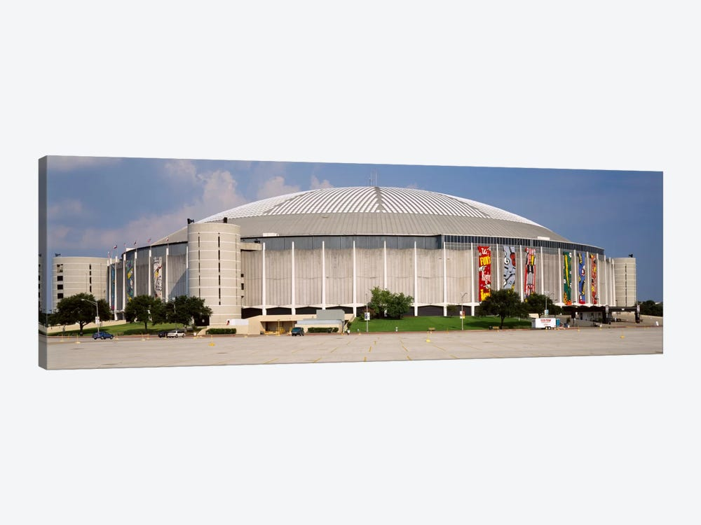 Baseball stadium, Houston Astrodome, Houston, Texas, USA by Panoramic Images 1-piece Canvas Art Print