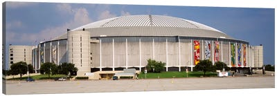 Baseball stadium, Houston Astrodome, Houston, Texas, USA Canvas Art Print
