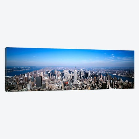 Aerial View, Midtown, New York City, New York, USA Canvas Print #PIM4} by Panoramic Images Canvas Print