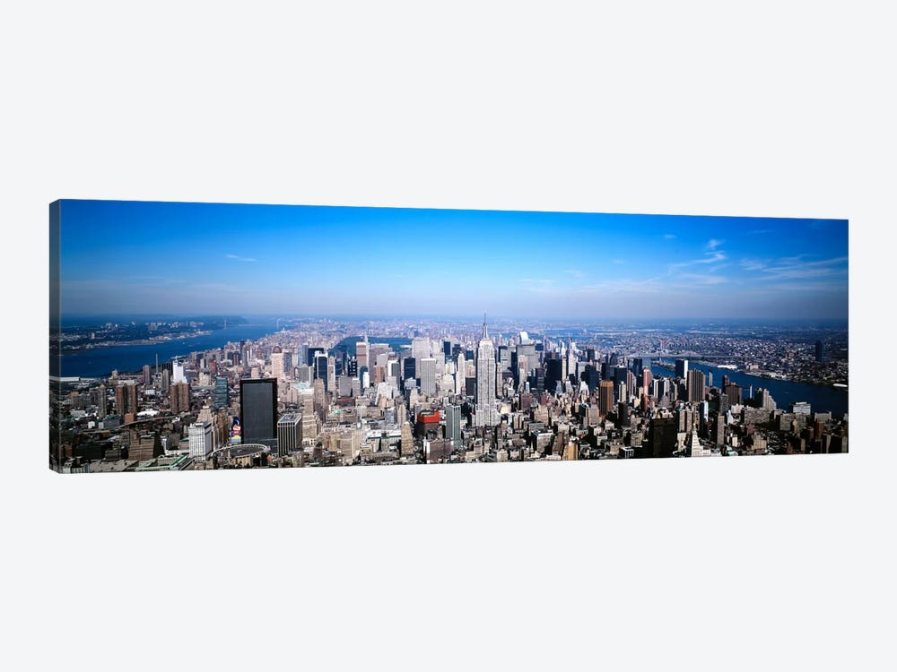 Aerial View, Midtown, New York City, New York, USA by Panoramic Images 1-piece Canvas Artwork