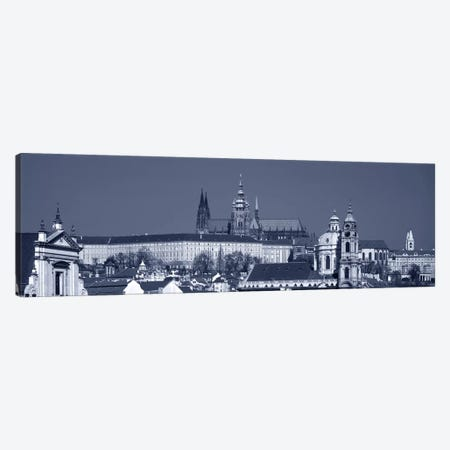 Buildings In A City, Hradcany Castle, St. Nicholas Church, Prague, Czech Republic Canvas Print #PIM5000} by Panoramic Images Canvas Wall Art