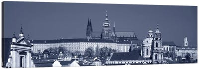 Buildings In A City, Hradcany Castle, St. Nicholas Church, Prague, Czech Republic Canvas Art Print