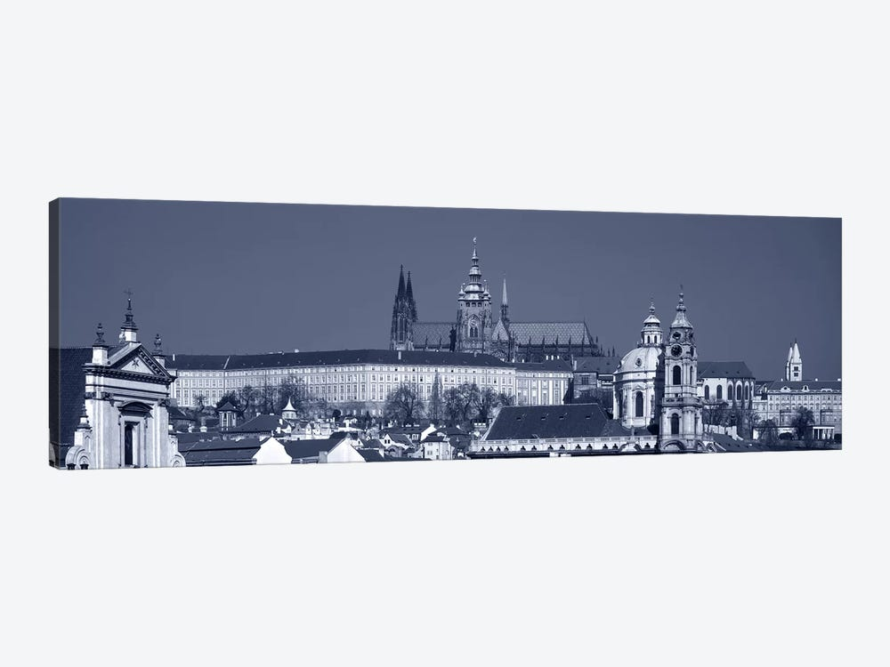 Buildings In A City, Hradcany Castle, St. Nicholas Church, Prague, Czech Republic by Panoramic Images 1-piece Canvas Artwork