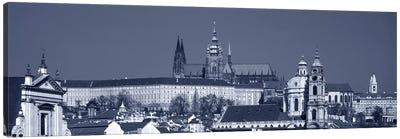 Buildings In A City, Hradcany Castle, St. Nicholas Church, Prague, Czech Republic Canvas Art Print