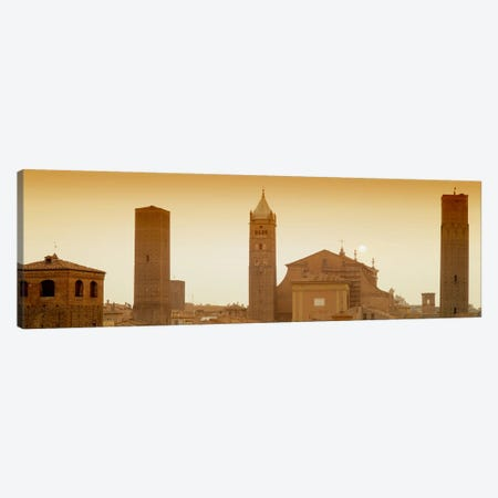 Buildings in a city, Bologna, Italy Canvas Print #PIM5002} by Panoramic Images Canvas Artwork