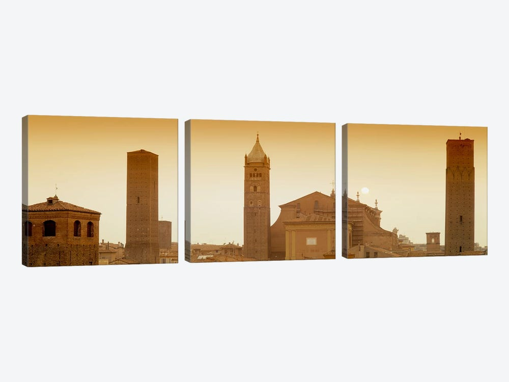 Buildings in a city, Bologna, Italy by Panoramic Images 3-piece Canvas Art