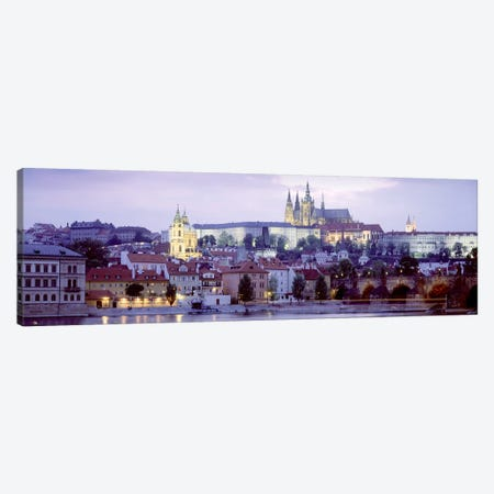 Low-Angle View Of Mala Strana (Lesser Town), Prague, Czech Republic Canvas Print #PIM5006} by Panoramic Images Canvas Print