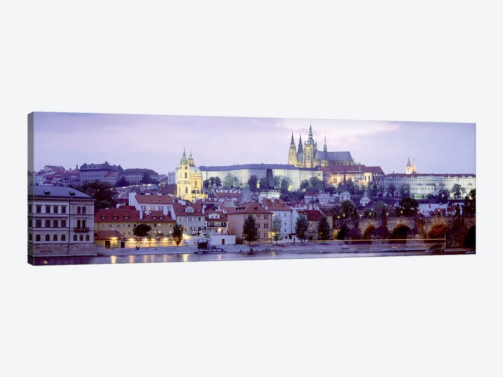 Low-Angle View Of Mala Strana (Lesser Town), Prague, Czech Republic by Panoramic Images 1-piece Canvas Art