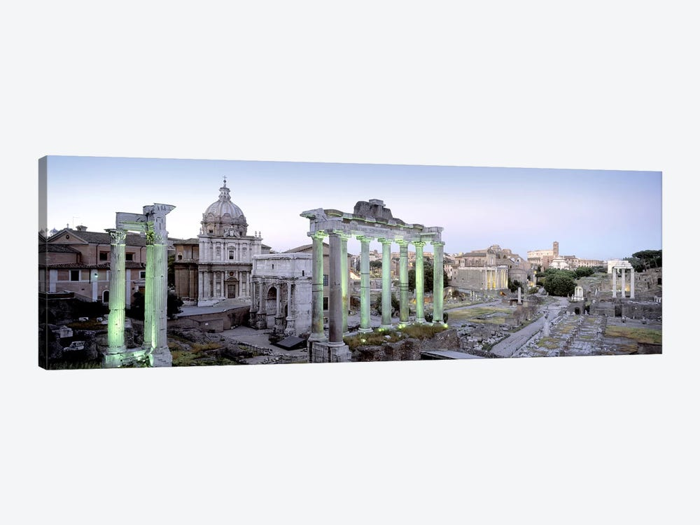 Ruins of an old building, Rome, Italy by Panoramic Images 1-piece Canvas Wall Art