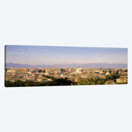 High-Angle View, Rome, Lazio, Italy Canvas Print #PIM5014} by Panoramic Images Canvas Wall Art