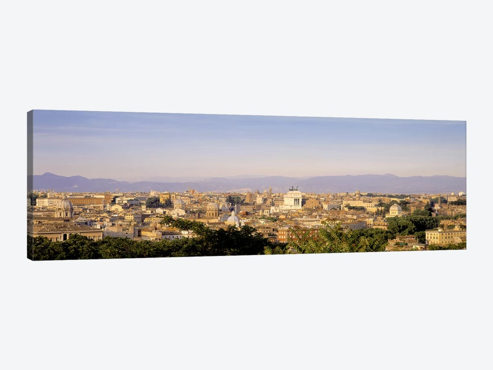 High-Angle View, Rome, Lazio, Italy by Panoramic Images 1-piece Canvas Art Print