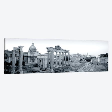 Ruins Of An Old Building, Rome, Italy #2 Canvas Print #PIM5015} by Panoramic Images Canvas Wall Art