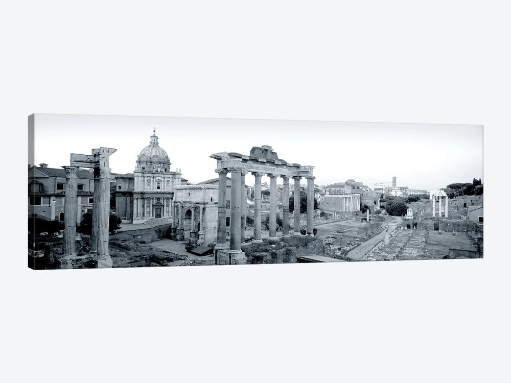 Ruins Of An Old Building, Rome, Italy #2 by Panoramic Images 1-piece Canvas Art