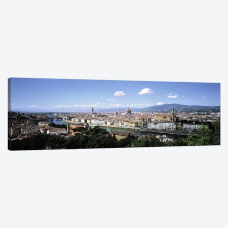 High-Angle View Of Historic Centre, Florence, Tuscany, Italy Canvas Print #PIM5022} by Panoramic Images Canvas Art