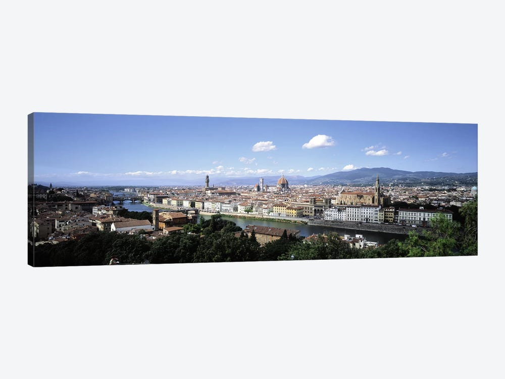 High-Angle View Of Historic Centre, Florence, Tuscany, Italy by Panoramic Images 1-piece Canvas Art