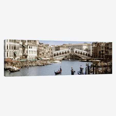 Rialto Bridge, Venice, Veneto, Italy Canvas Print #PIM5032} by Panoramic Images Canvas Print